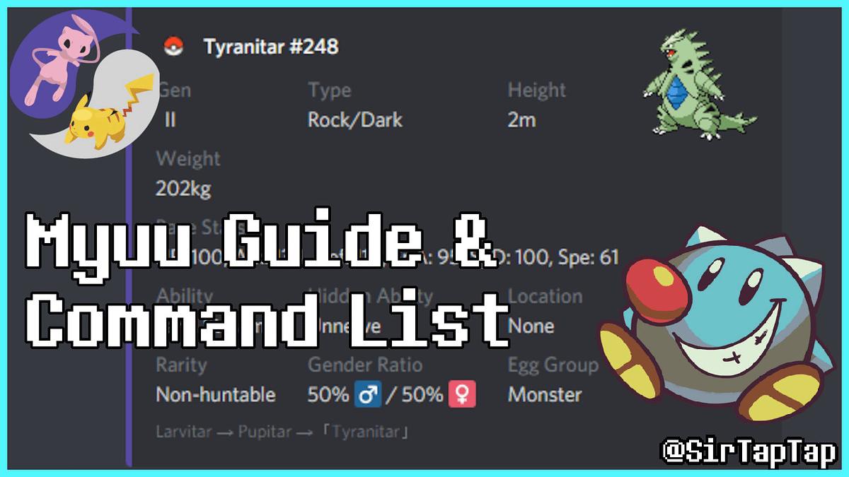 Myuu Guide & Command List