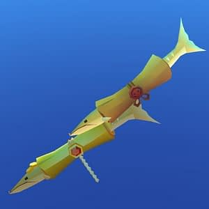 AbyssRium Gold Barracuda