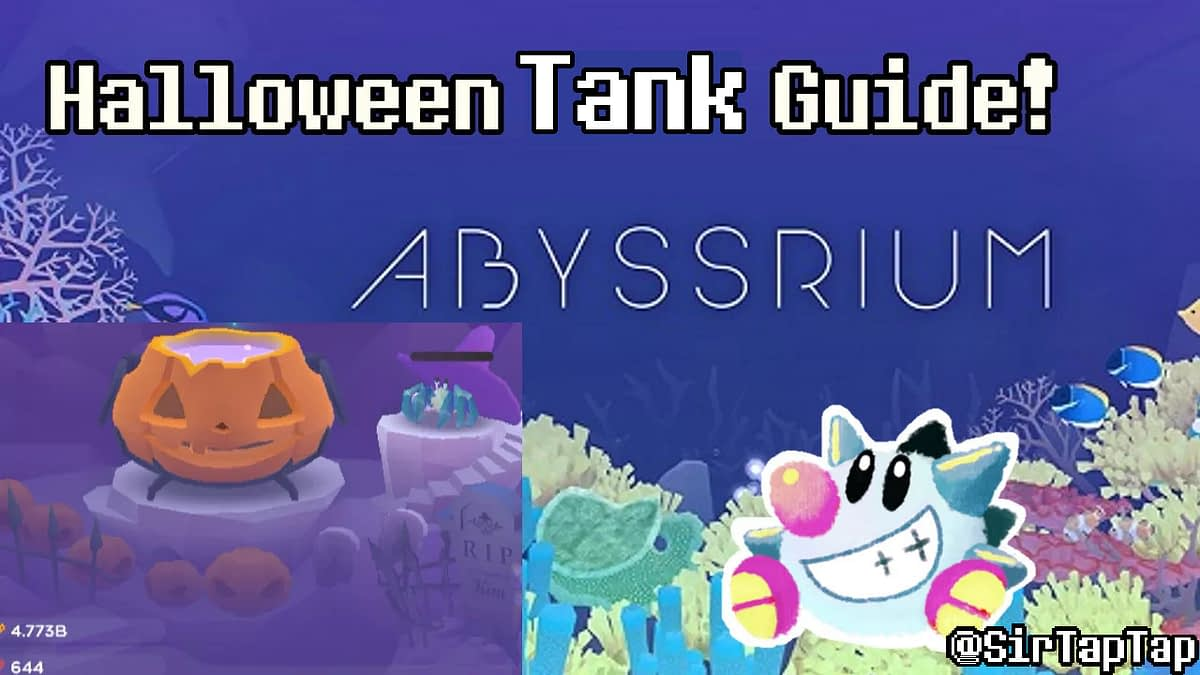 Tap Tap Fish – AbyssRium Halloween Tank Event Guide