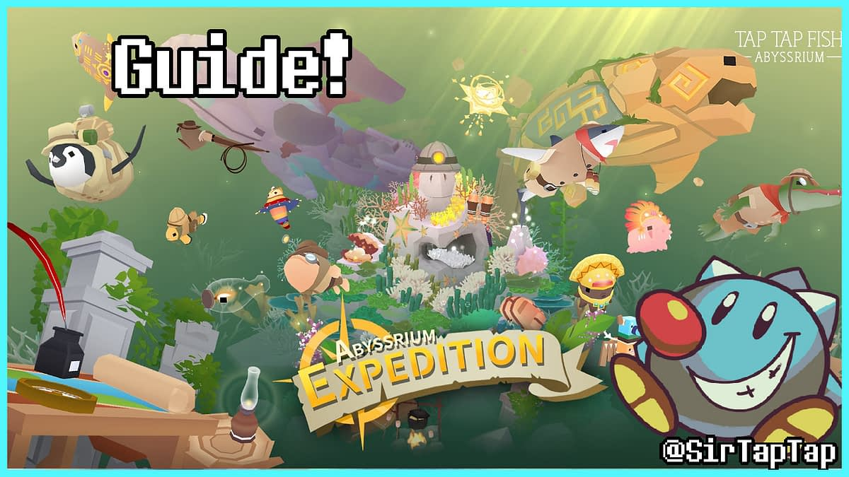Tap Tap Fish AbyssRium Expedition Event Guide All Hidden Fish