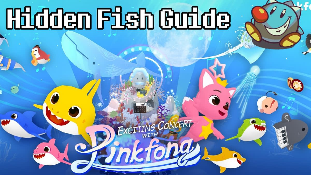 Tap Tap Fish AbyssRium Pinkfong Baby Shark 2021 Event Guide